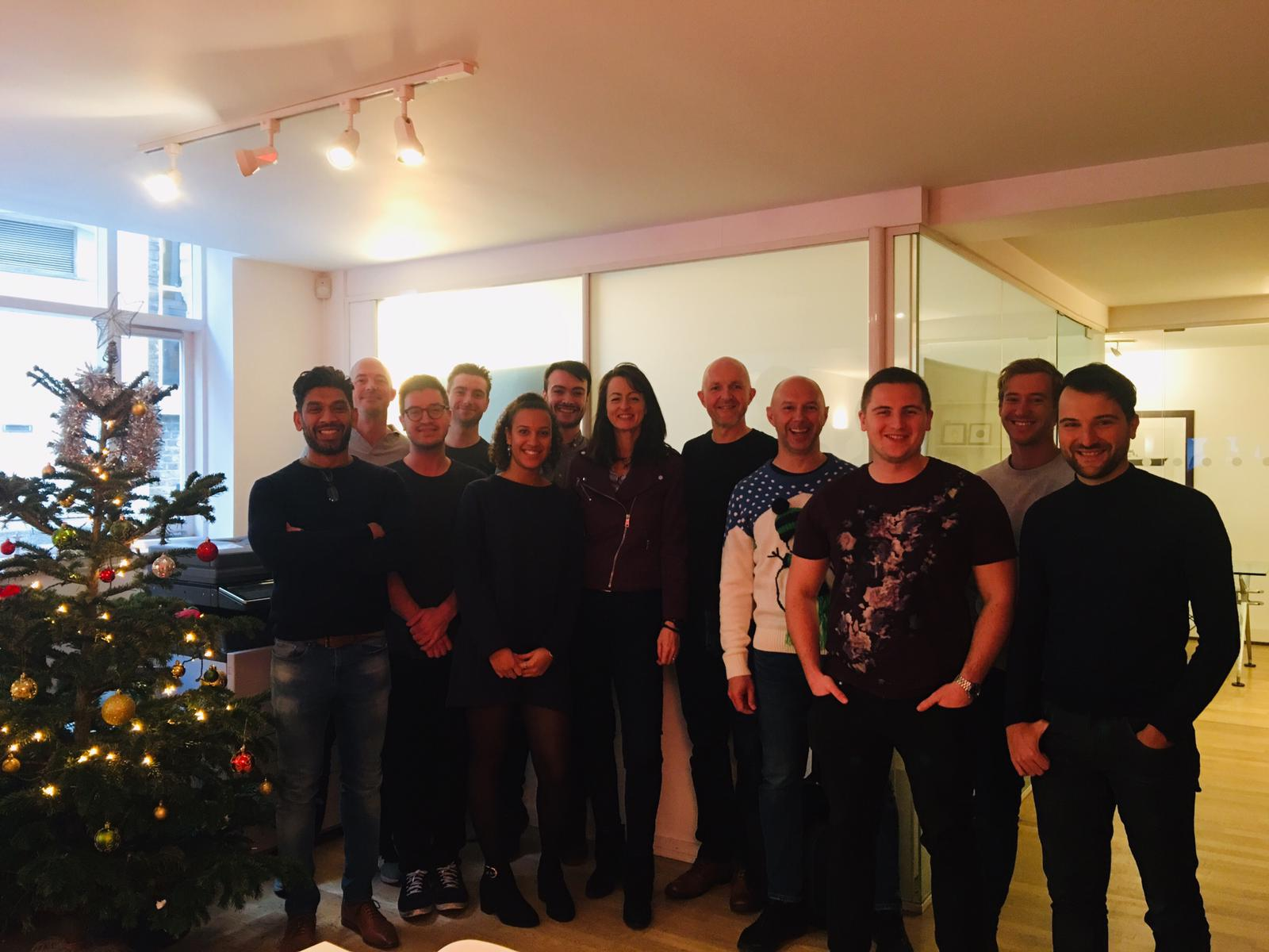 Glisser Team, Kate & Ian - Dec 2018